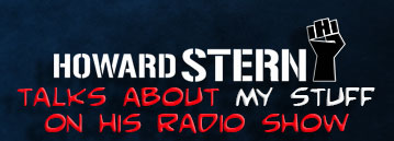 Howard Stern Talks about my Work